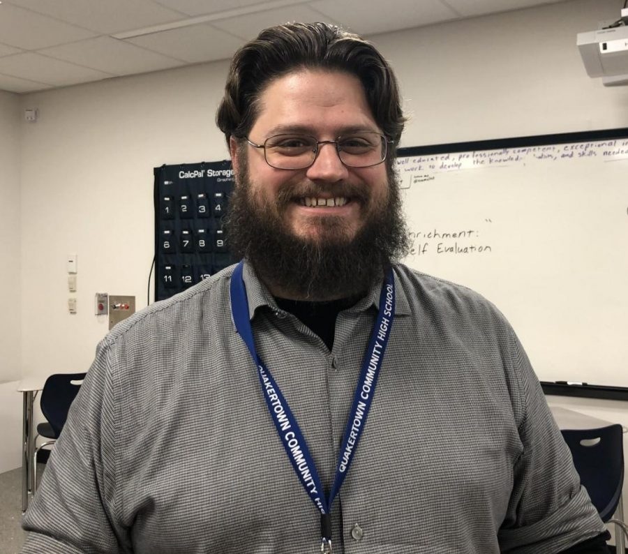 Meet John Stoverink, Science Teacher