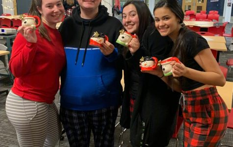 The Snow Bunnies, winners of this year's Holiday Trivia