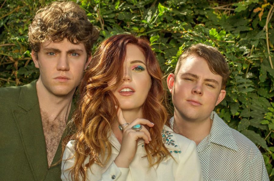 The three Sierota's, members of Echosmith